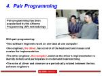4 pair programming