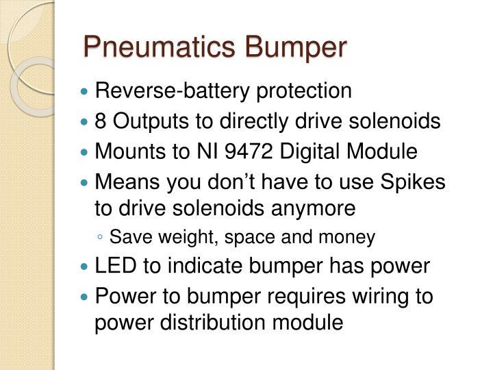 Pneumatics Bumper