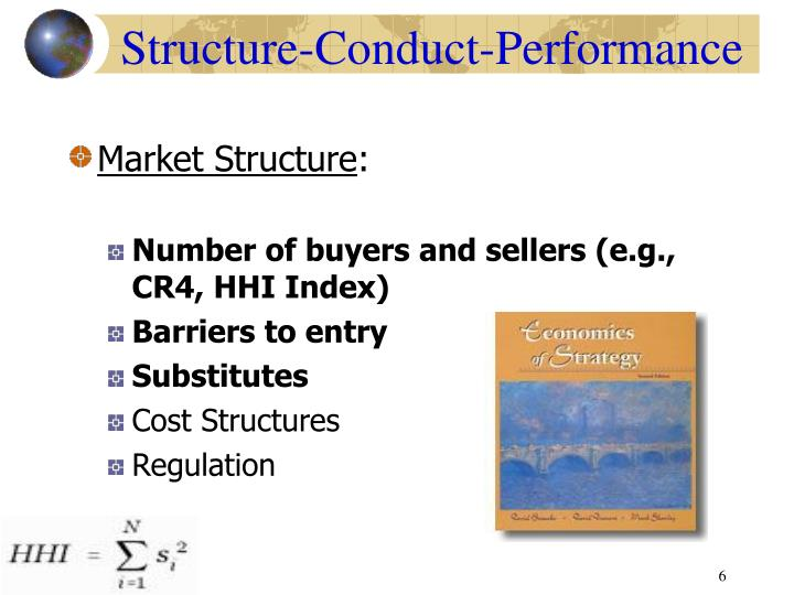 the structure conduct performance framework in industrial organizations economics essay Industrial organization is the economic field  joe s bain jr provided the structure, conduct and performance  which is used as an analytical framework,.