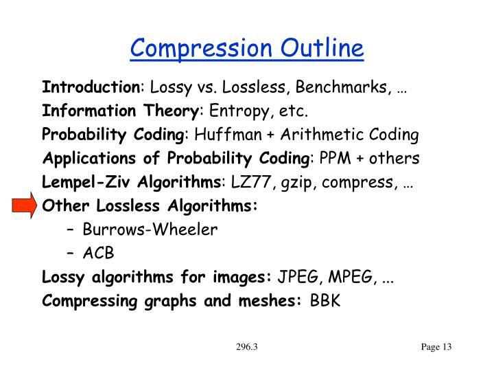 Compression Outline