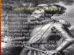 government and history