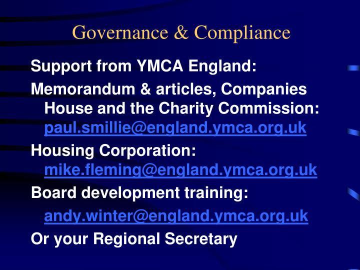 Governance & Compliance