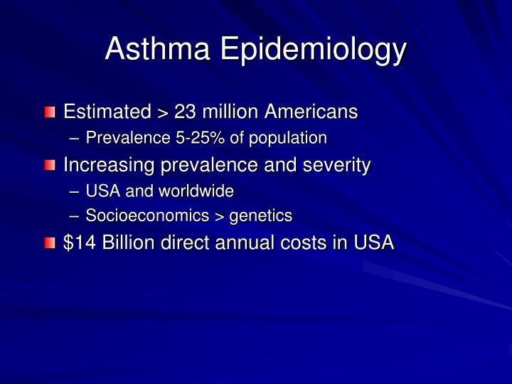 Asthma Epidemiology