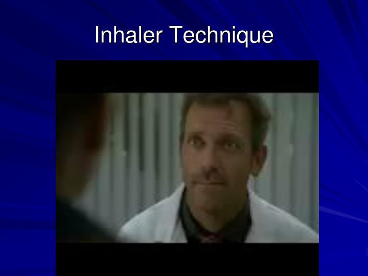 Inhaler Technique