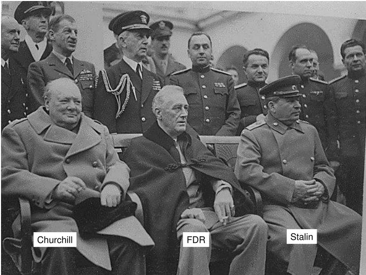 Ppt Yalta Conference Powerpoint Presentation Id1149391