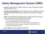 safety management system sms
