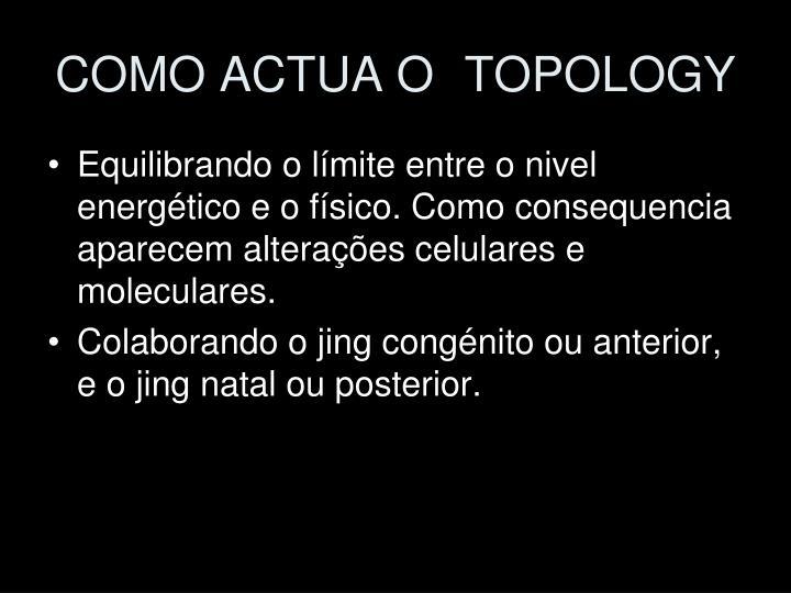 COMO ACTUA O TOPOLOGY