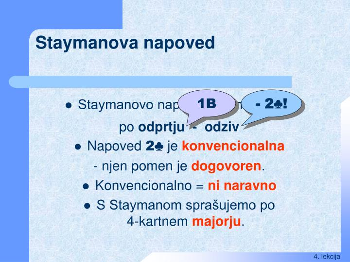 Staymanova napoved