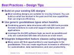 best practices design tips