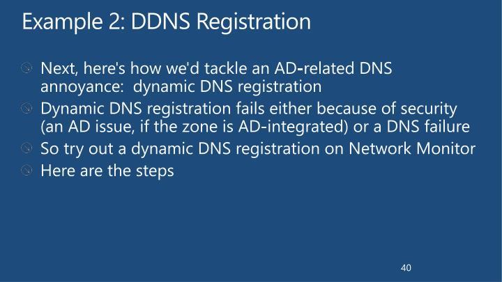 Example 2: DDNS Registration