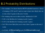 b 2 probability distributions15