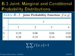 b 3 joint marginal and conditional probability distributions22