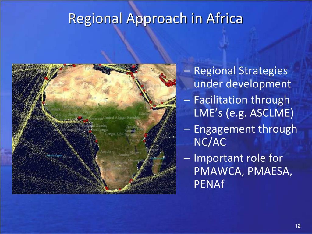 Regional Approach in Africa