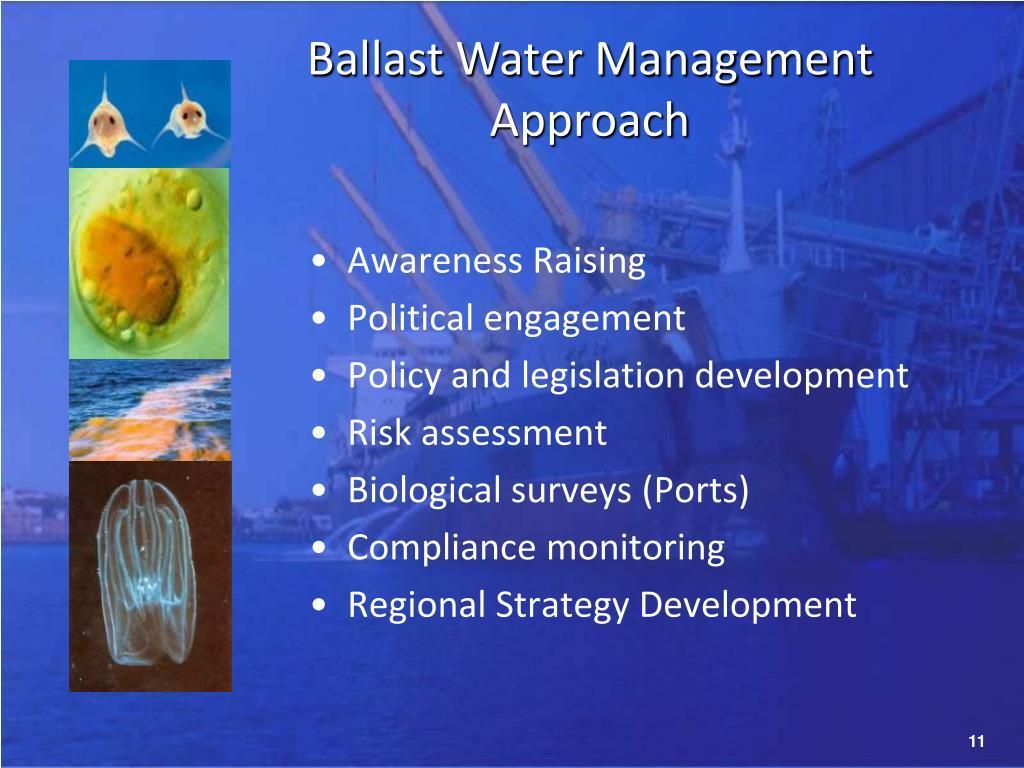 Ballast Water Management Approach