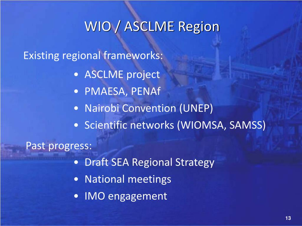 WIO / ASCLME