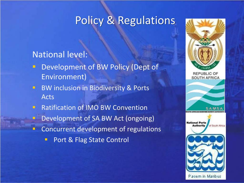 Policy & Regulations