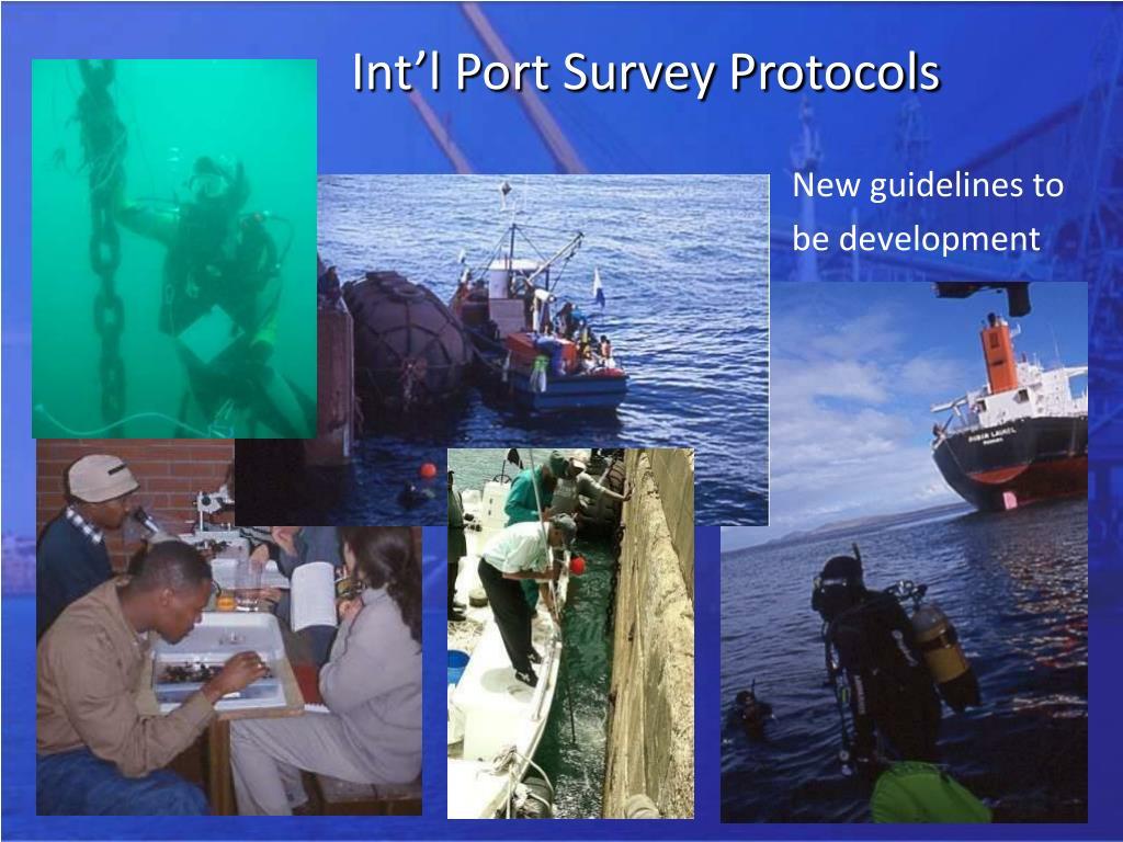 Int'l Port Survey Protocols