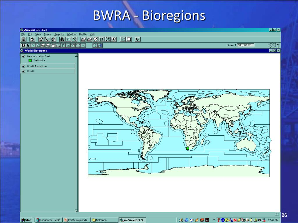 BWRA - Bioregions