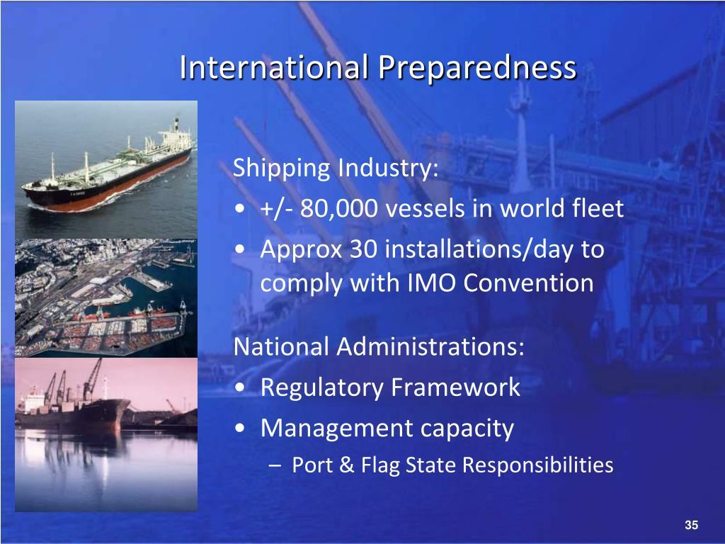 International Preparedness