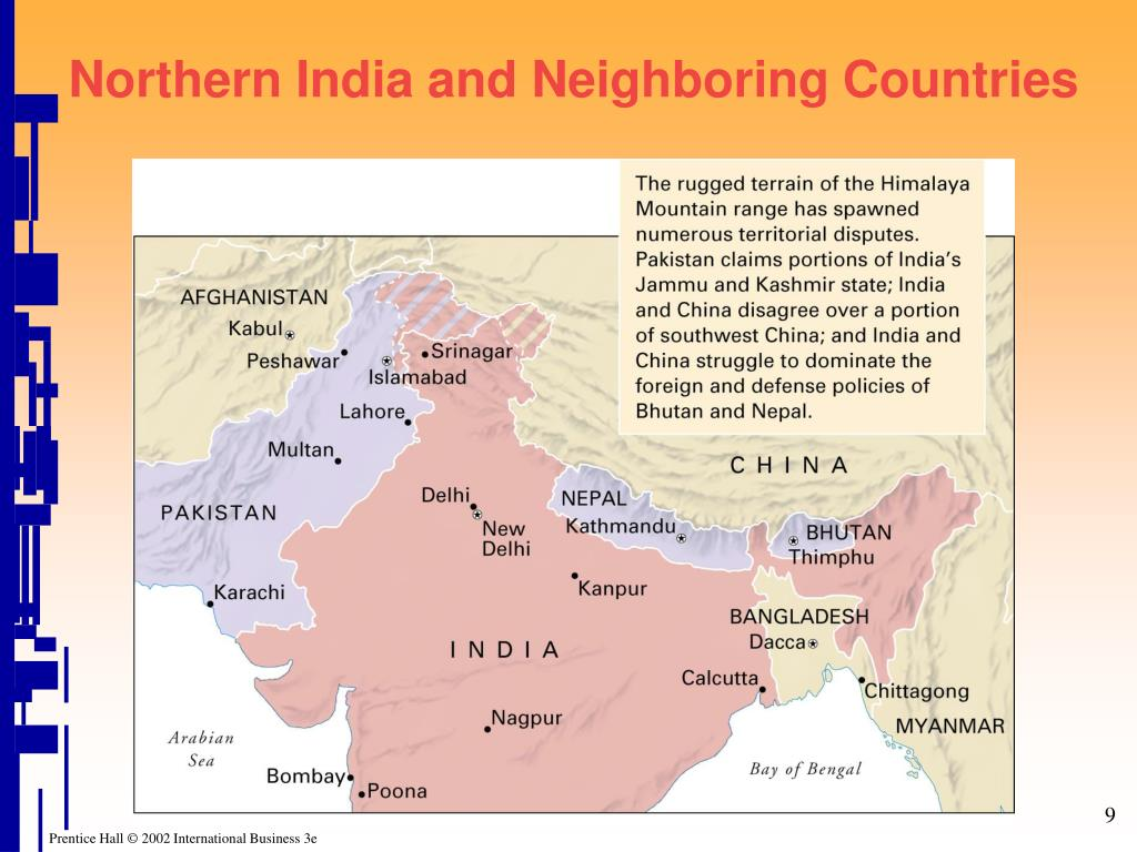 Northern India and Neighboring Countries