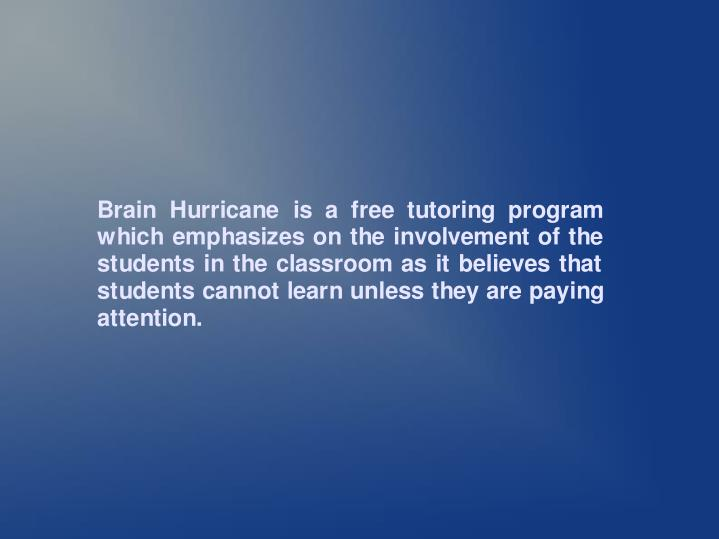 Brain hurricane 11503