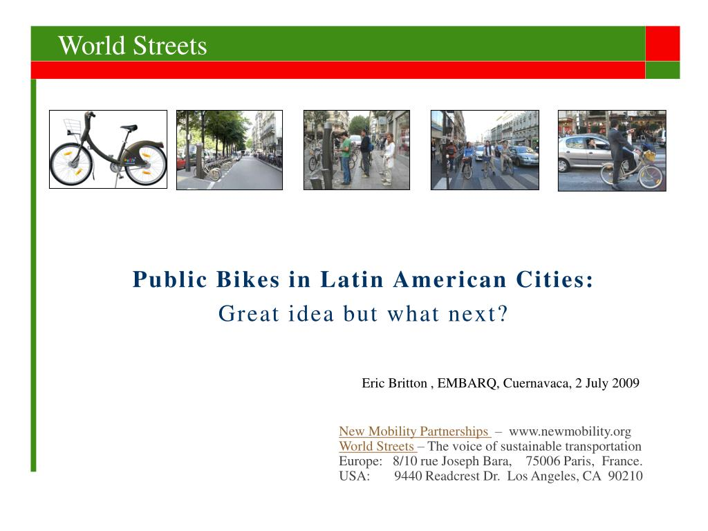 public bikes in latin american cities great idea but what next l.