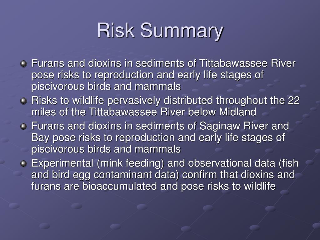 Risk Summary