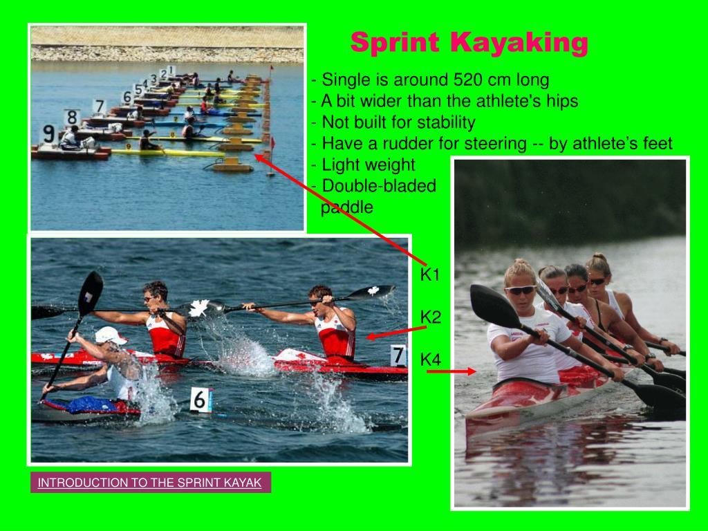 Sprint Kayaking