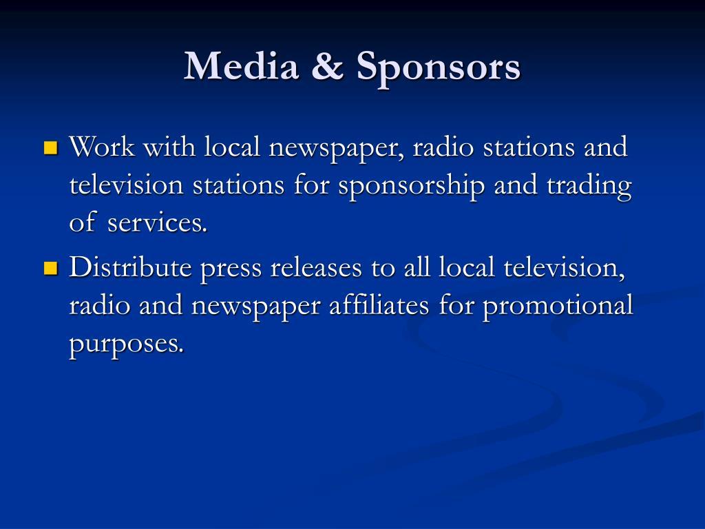 Media & Sponsors