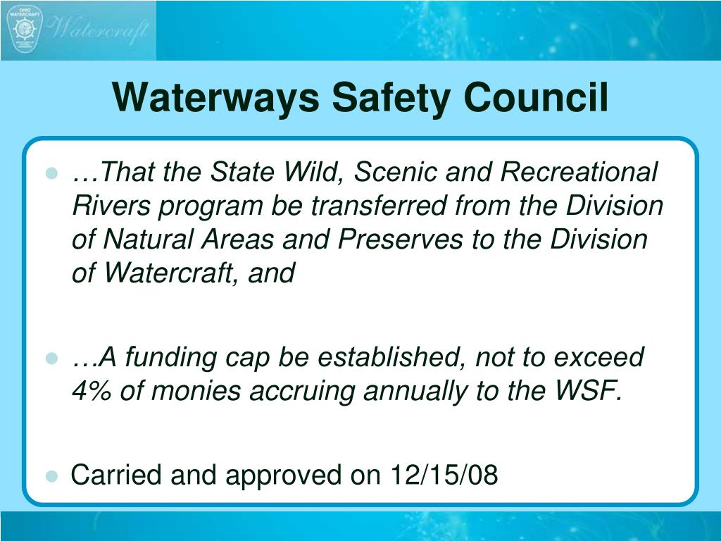 Waterways Safety Council