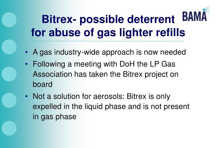 Bitrex- possible deterrent