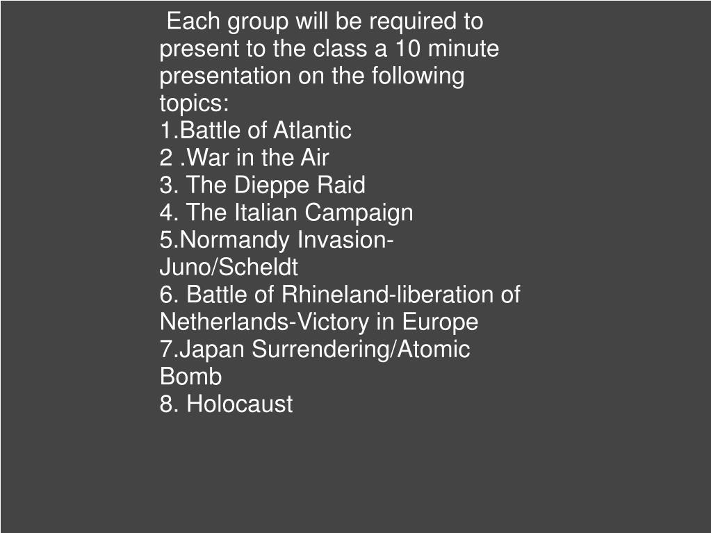 PPT - Chapter 5 World War 2 PowerPoint Presentation - ID:1150717