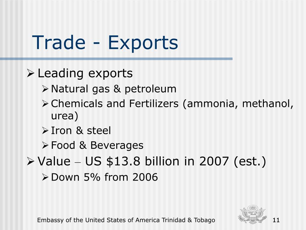 Trade - Exports