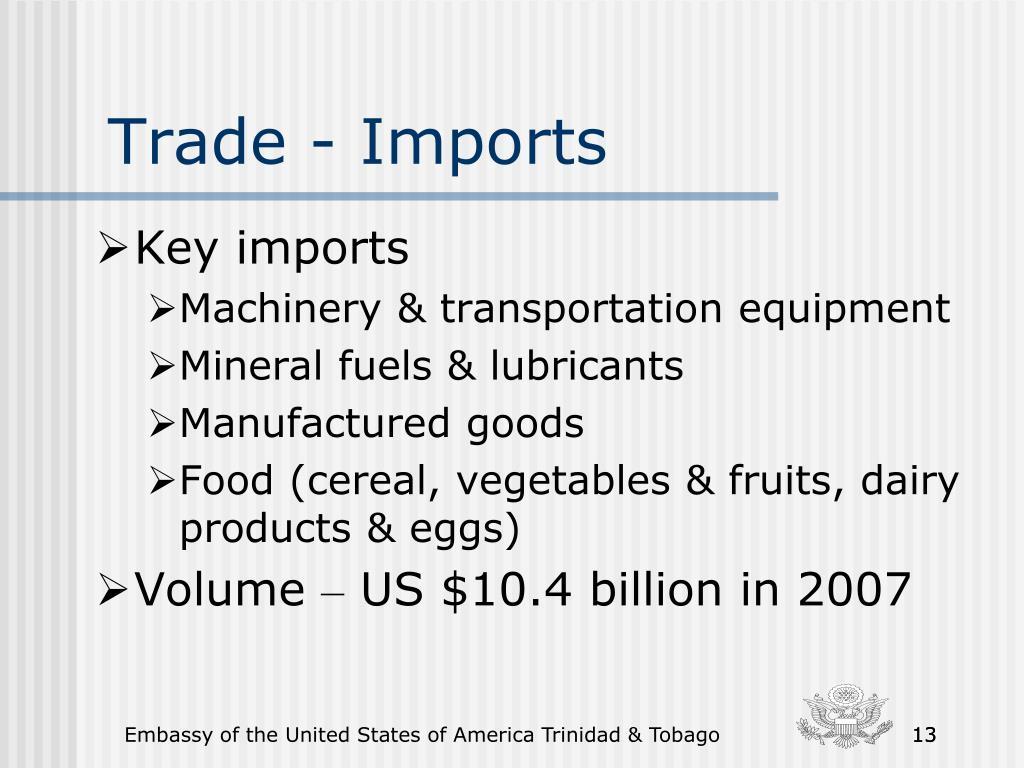 Trade - Imports