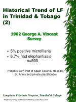 historical trend of lf in trinidad tobago 2