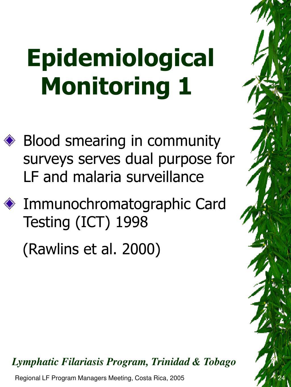 Epidemiological