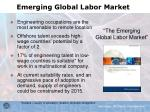emerging global labor market