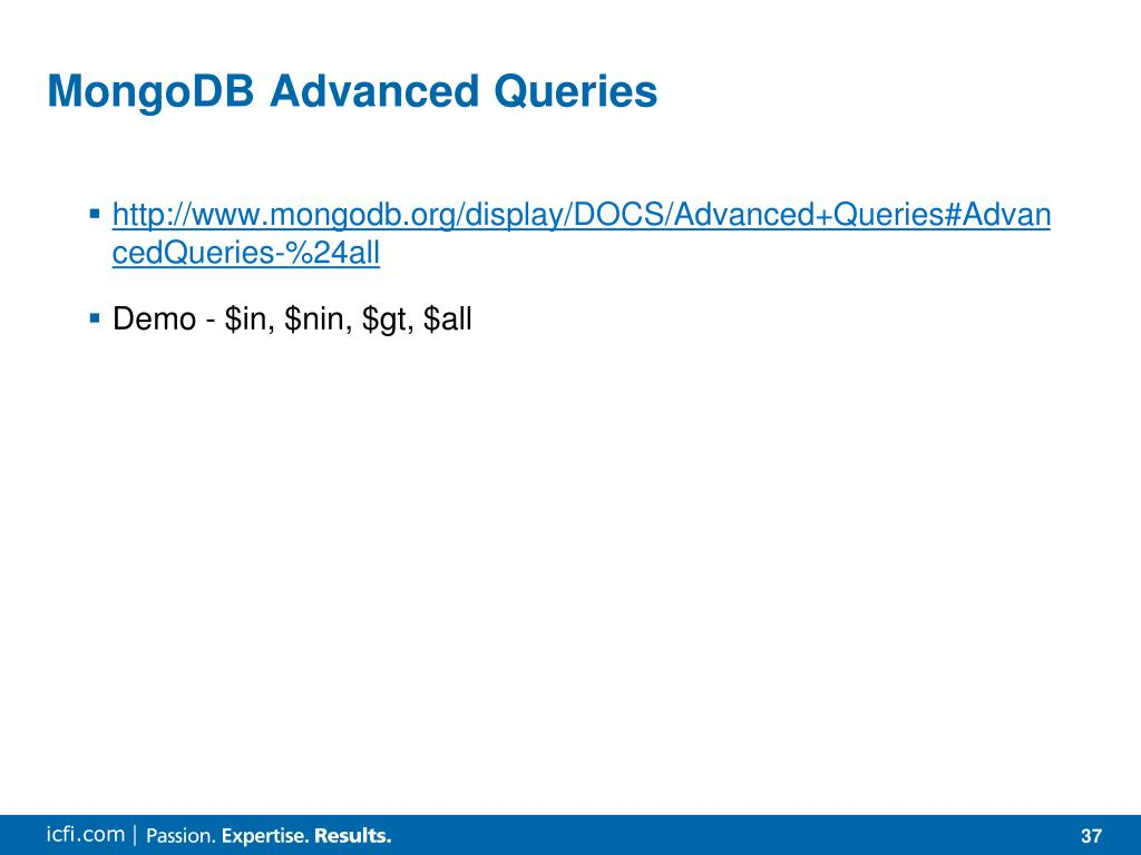 PPT - MongoDB and Spring Data PowerPoint Presentation - ID:1150851