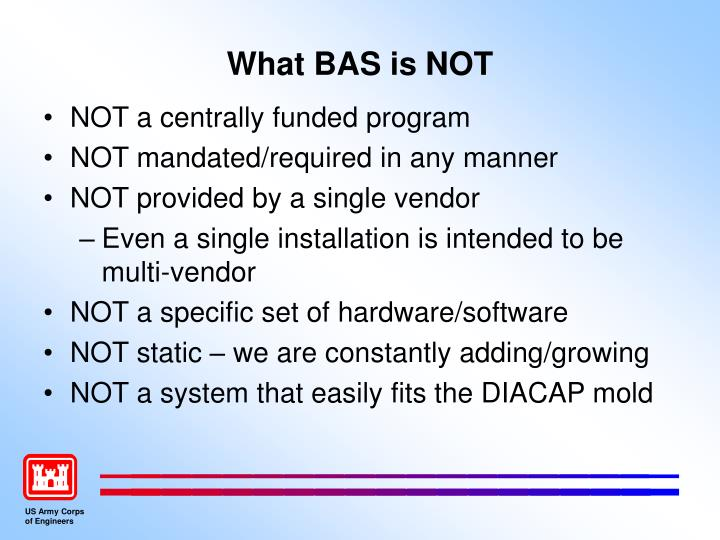 What bas is not