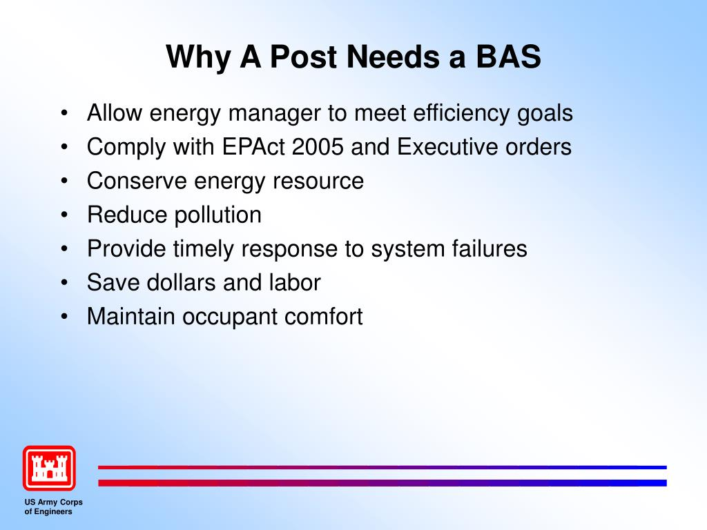 Why A Post Needs a BAS