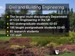 civil and building engineering11