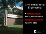 civil and building engineering16