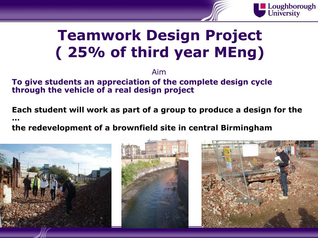 Teamwork Design Project