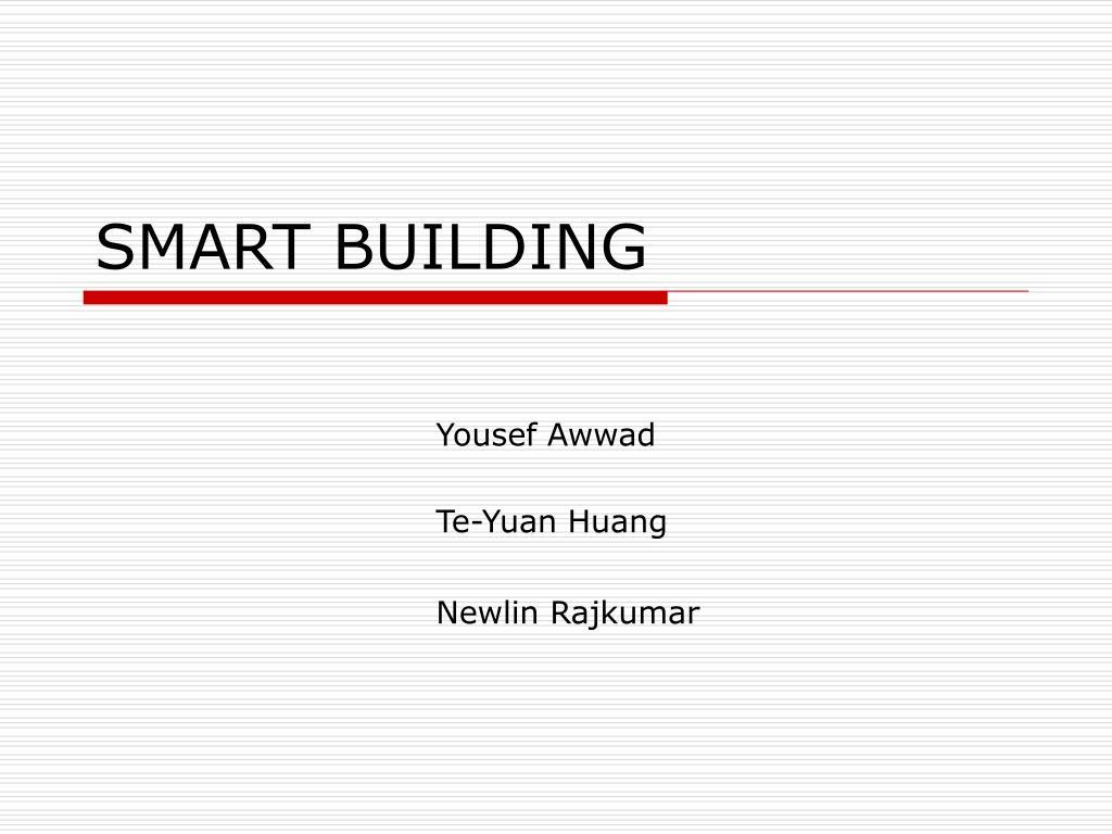 smart building l.