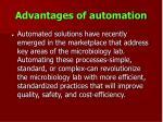 advantages of automation