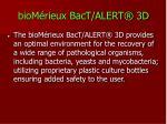 biom rieux bact alert 3d