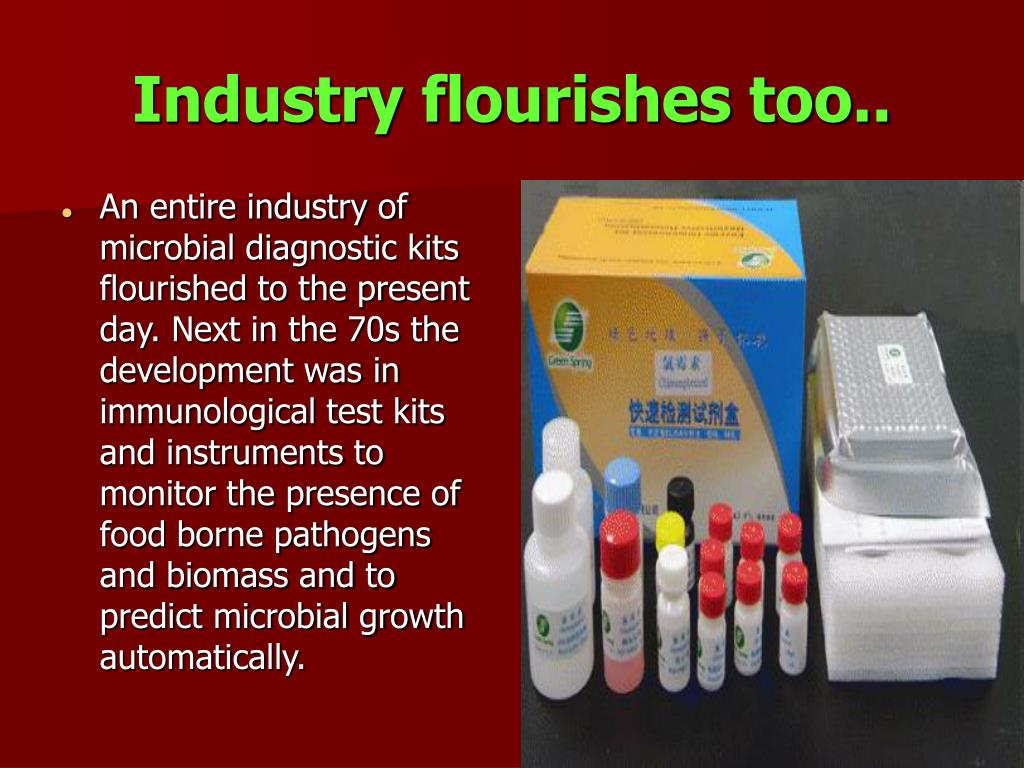 Industry flourishes too..
