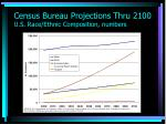 census bureau projections thru 2100 u s race ethnic composition numbers