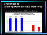 challenges to growing domestic s e workforce37