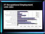 it occupational employment 1999 2002